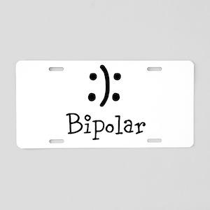 Bipolar Aluminum License Plate