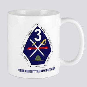 Third Recruit Training Battalion with Text Mug