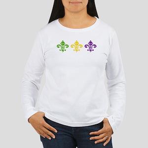 Mardi Fleur Swirl Long Sleeve T-Shirt