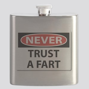 Never Trust A Fart Flask