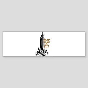 NYC EMPIRE Bumper Sticker
