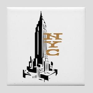 NYC EMPIRE Tile Coaster