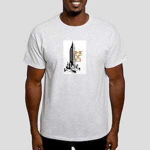 NYC EMPIRE Ash Grey T-Shirt