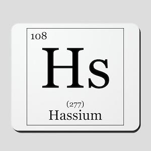 Elements - 108 Hassium Mousepad