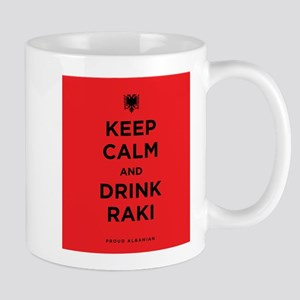 Keep Calm and drink raki Mug