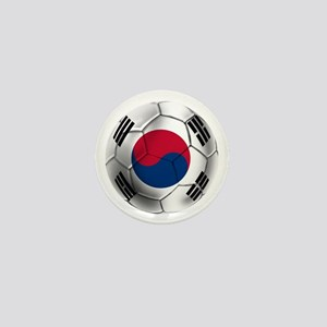 Korea Football Mini Button