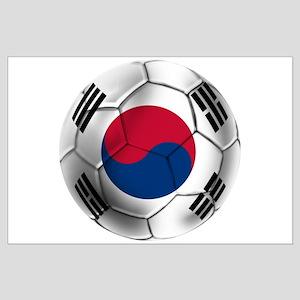 Korea Football Large Poster