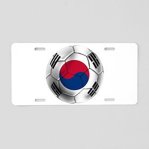 Korea Football Aluminum License Plate