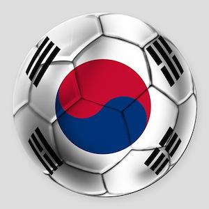 Korea Football Round Car Magnet
