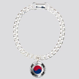 Korea Football Charm Bracelet, One Charm