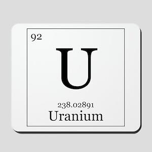 Elements - 92 Uranium Mousepad