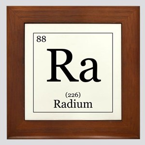 Elements - 88 Radium Framed Tile