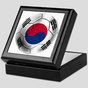 Korea Football Keepsake Box