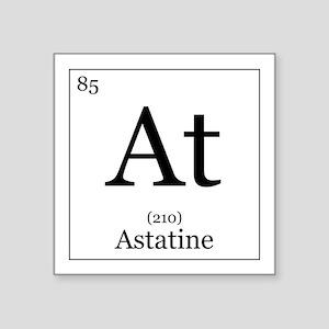 "Elements - 85 Astatine Square Sticker 3"" x 3"""