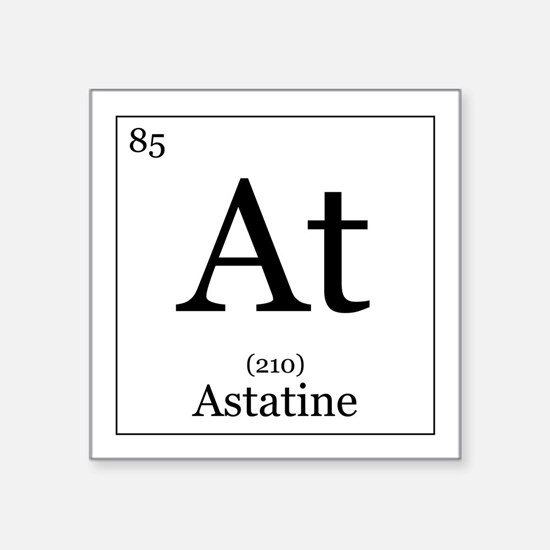 Astatine stickers cafepress elements 85 astatine square sticker 3 urtaz Gallery
