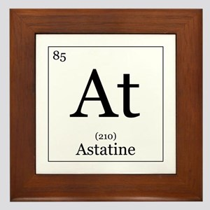 Elements - 85 Astatine Framed Tile