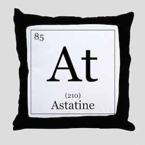 Elements - 85 Astatine Throw Pillow