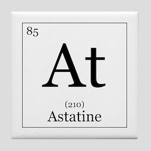 Periodic table astatine coasters cafepress elements 85 astatine tile coaster urtaz Image collections