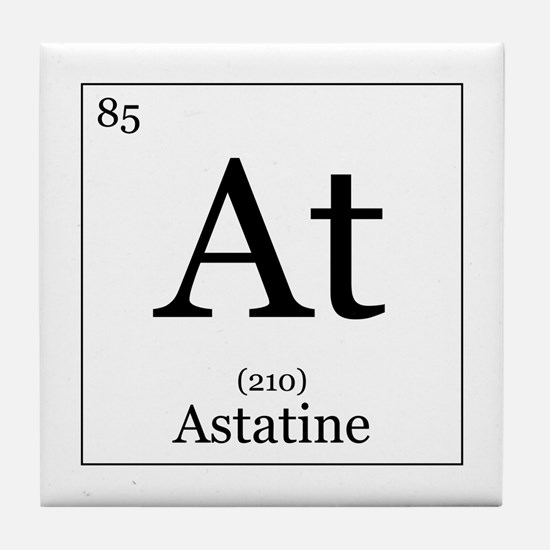 Elements - 85 Astatine Tile Coaster