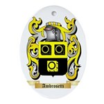 Ambrosetti Ornament (Oval)