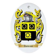 Ambrosi Ornament (Oval)