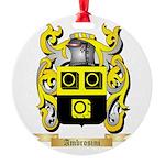Ambrosini Round Ornament