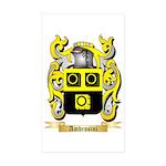 Ambrosini Sticker (Rectangle 50 pk)