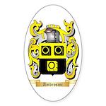 Ambrosini Sticker (Oval 50 pk)