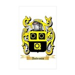 Ambrosio Sticker (Rectangle 50 pk)