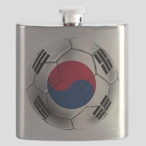 Korea Football Flask