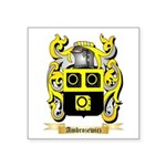 Ambrozewicz Square Sticker 3
