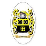 Ambrozik Sticker (Oval 10 pk)