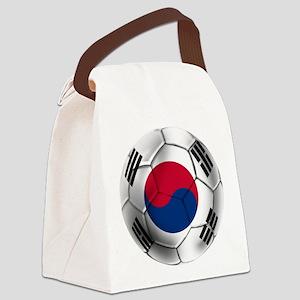 Korea Football Canvas Lunch Bag