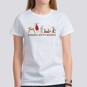 Dancing w/ Woofs (female) T-Shirt