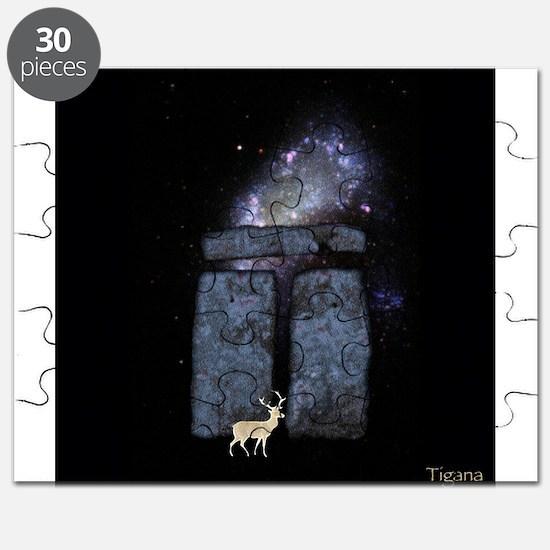 White Stag at Stonehenge - PatronUs Puzzle