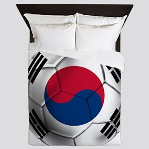 Korea Football Queen Duvet