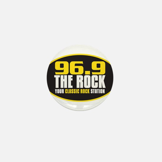 969 The Rock Your Classic Rock Station Mini Button