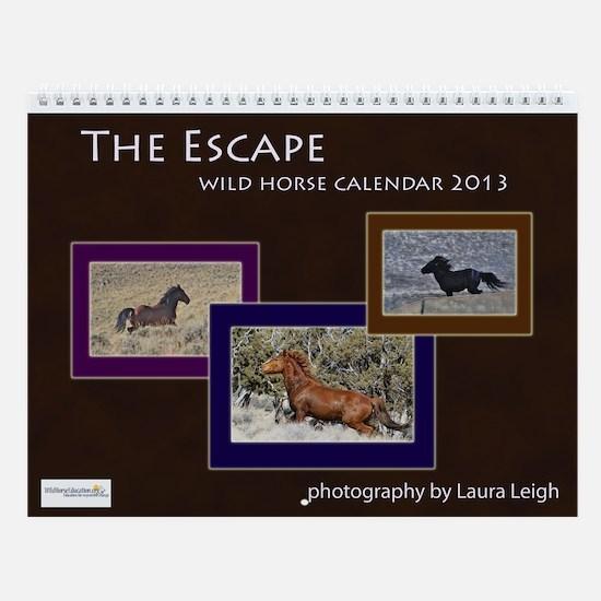 """Wall Calendar """"The Escape"""""""