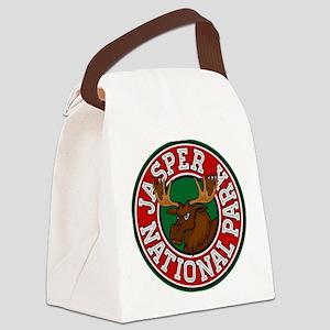 Jasper Moose Circle Canvas Lunch Bag