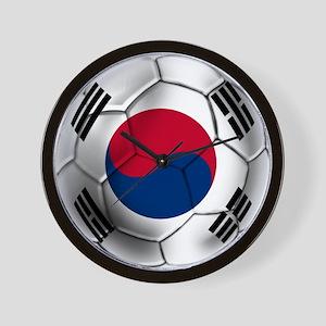 Korea Football Wall Clock