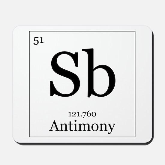 Elements - 51 Antimony Mousepad