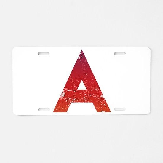 Atheist A Aluminum License Plate