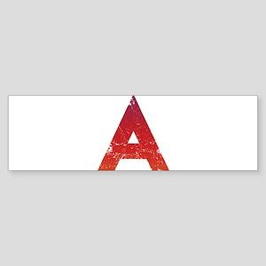 Atheist A Sticker (Bumper)