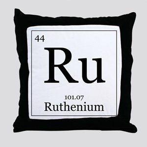 Elements - 44 Ruthenium Throw Pillow