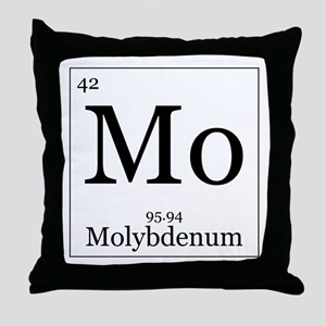 Elements - 42 Molybdenum Throw Pillow