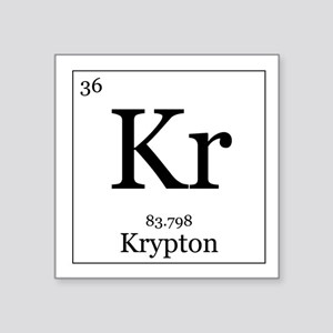 Periodic table krypton stickers cafepress elements 36 krypton square sticker 3 x urtaz Images