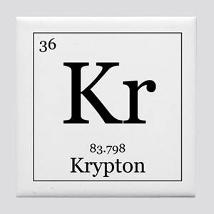 Periodic table krypton coasters cafepress elements 36 krypton tile coaster urtaz