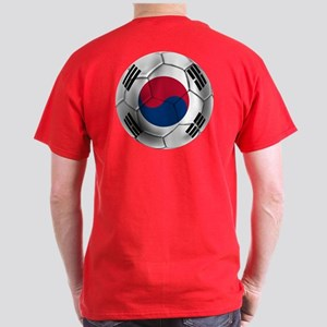 Korea Football Dark T-Shirt