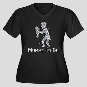 Halloween Mummy Plus Size T-Shirt