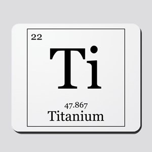 Elements - 22 Titanium Mousepad